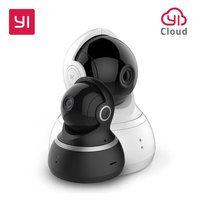YI cámara domo 1080 p HD interior Pan/Tilt/Zoom IP inalámbrica sistema de seguridad con visión nocturna de seguimiento de movimiento YI nube