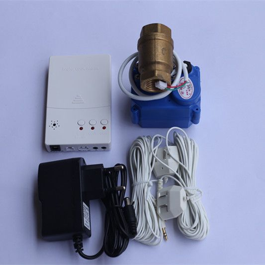 Russia/Ukrain Hot Sell Wired Water Leakage Detector with 1/2