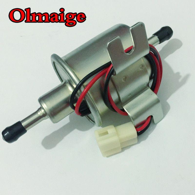 Universal diesel petrol gasoline 12v electric fuel pump HEP-02A low <font><b>pressure</b></font> fuel pump For Carburetor,Motorcycle,ATV