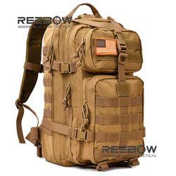 Reebow Taktis Taktis Militer Assault Pack Tentara Molle Camping Tahan Air BUG Keluar Tas Rucksack untuk Outdoor Hiking