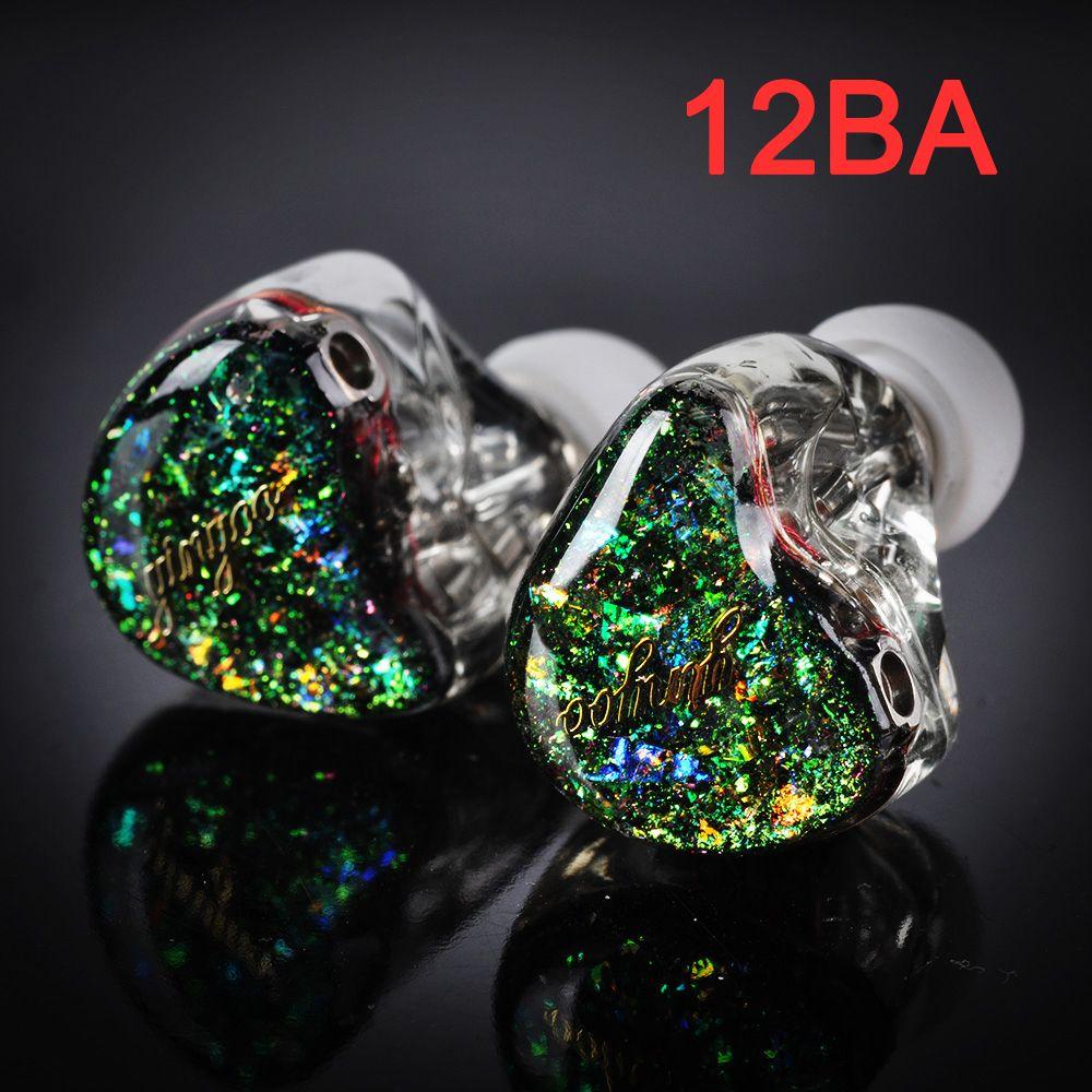 CTZ Nach Maß 12BA Balanced armature-3 Einheit Treiber 0,78mm 2 Pin Kopfhörer DJ Noise Cancelling Monitor Kopfhörer für iPhone xiaomi