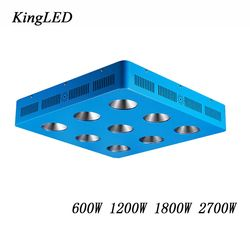 600W/1200W/1800W/2700W LED Grow Light Full Spectrum COB 300W Chips for Indoor Medical Plants Grow Ved and Bloom High Yield