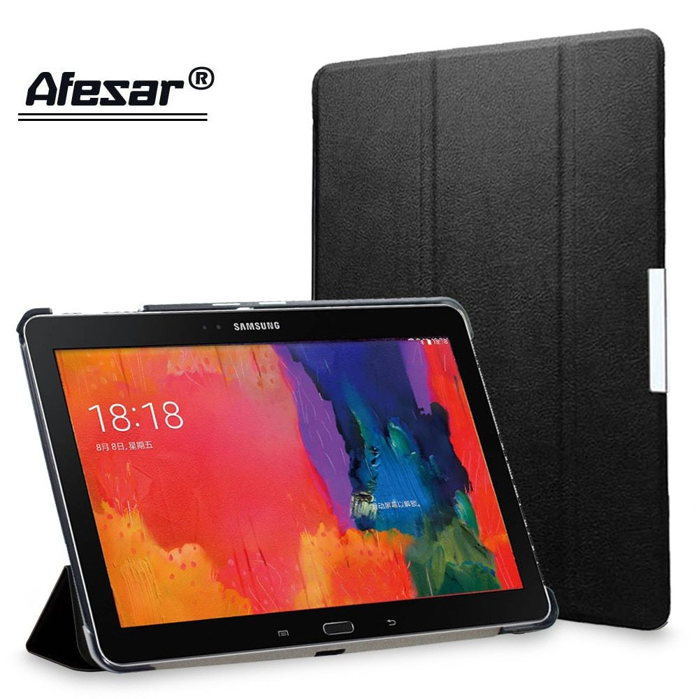 Afesar UltraSlim Stand book Cover Case for Samsung Galaxy Tab Pro 10.1 inch or SM T520 T521 T525 tablet pu leather Case magnetic