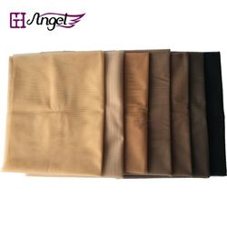#Light Brown 1 yard 1 yard Swiss Lace Pattern Net for Making Wig Toupee Top Closure Foundation Hair Accessories Monofilament