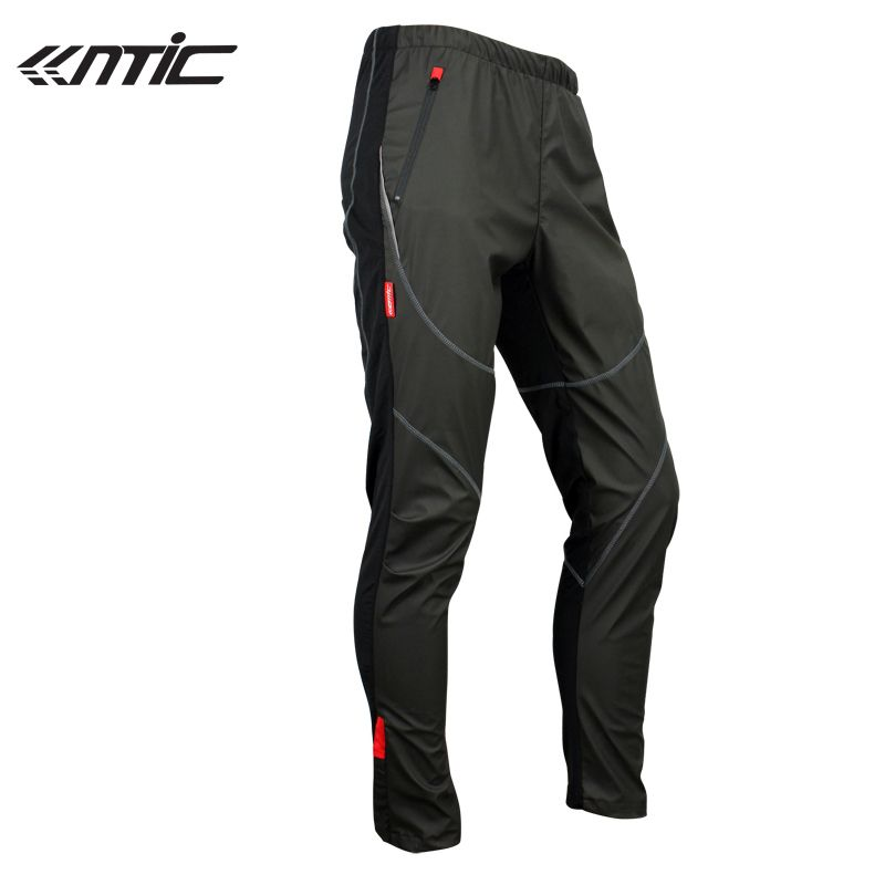 SANTIC Hiking Fleece Thermal Wind Pants Winter Pants Tights-James Mens Sports Trousers Plus Size <font><b>Track</b></font> Padded Windproof bike