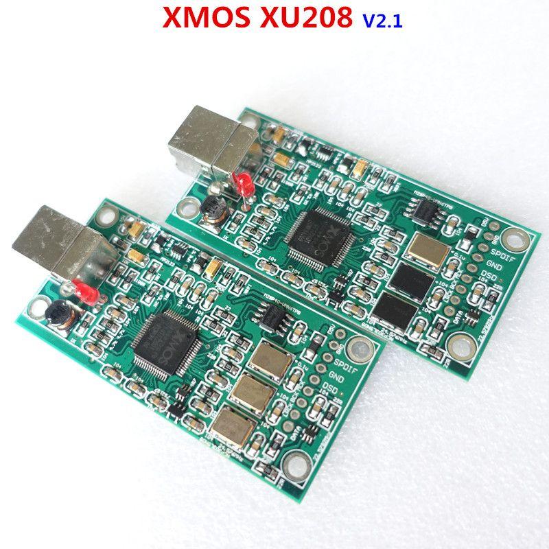 XMOS XU208 USB 384K 32B module I2S SPDIF output,support DSD for es9018 ES9028 ES9038PRO DAC