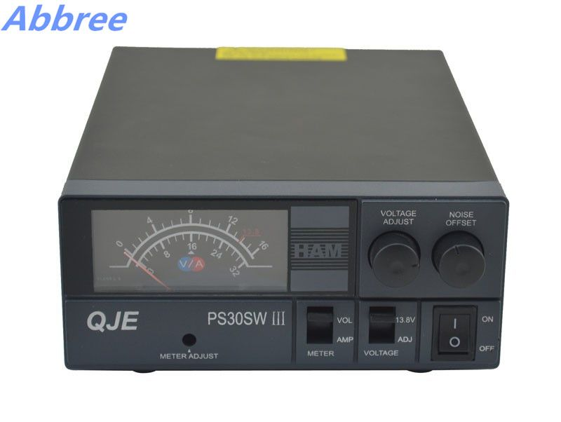 Abbree PS30SW III  13.8V DC 30A Switching Power Supply for Mobile Car Radio Base Station Transceiver Radio Transmitter