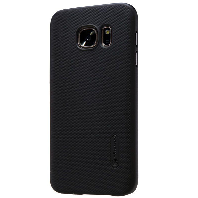 Nillkin givré cas pour samsung Galaxy s7 (5.1 pouces) en plastique dur de couverture arrière pour samsung s7 avec cadeau