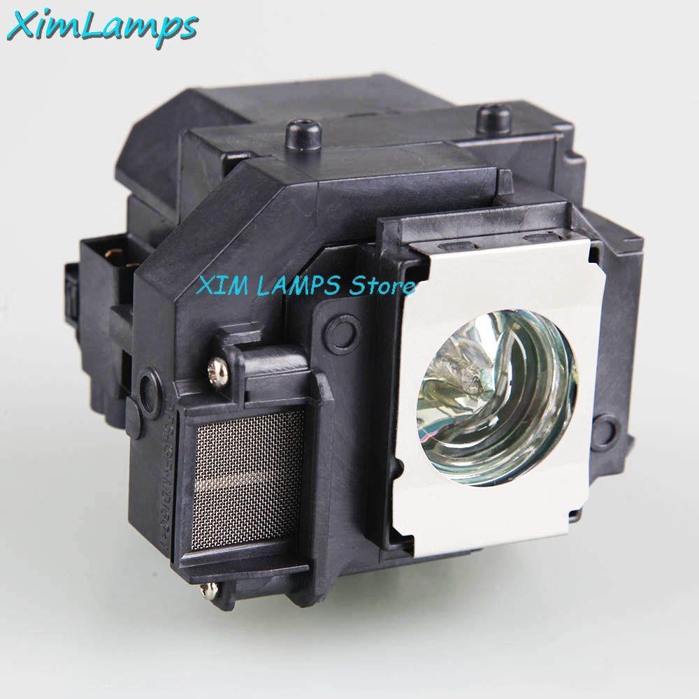 Hot Sale XIM Lamps ELPLP54 Repalcement Projector Lamp V13H010L54 for Epson EB-S7+ EB-S72 EB-S82 EB-X7 EB-X72 EB-X8E EB-W7 EB-W8