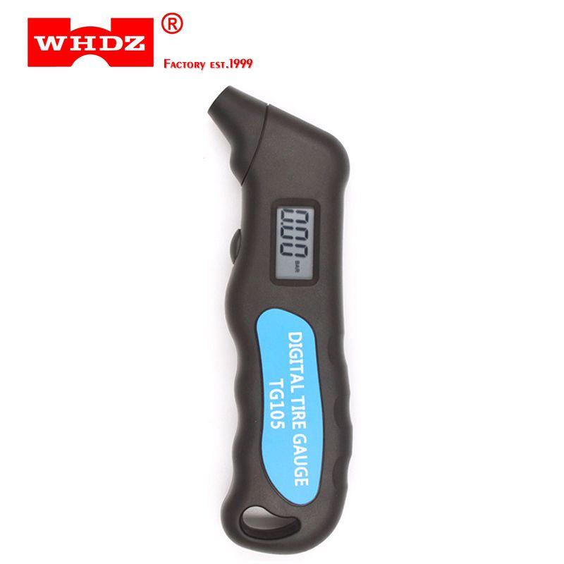 WHDZ TG105 Digital Car Tire Tyre Air Pressure Gauge Meter Manometer Barometers Tester