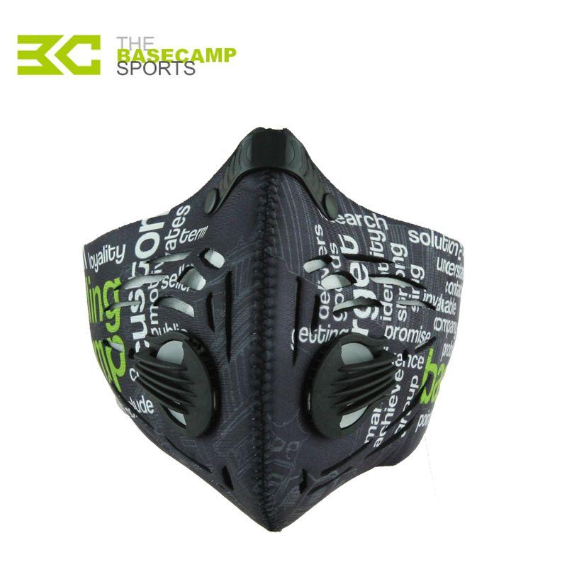 Männer Frauen Luftfilter Sport Gesichtsmaske Ausbildung Fahrrad Radfahren Halbe Gesichtsmaske Bike Laufen Jogging Gesichtsmaske Anti Staubschutzmaske