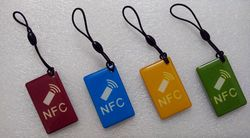 Waterproof NFC Tags/lable 13.56mhz RFID Smart Card for All NFC enabled phone ,min:1pcs