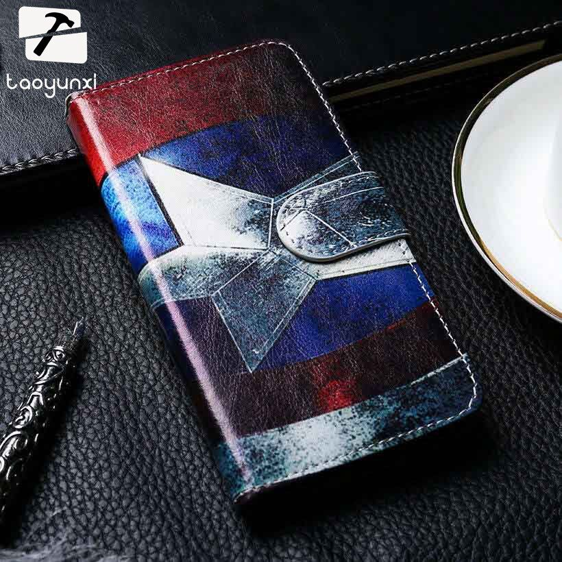 TAOYUNXI PU Leather Cell Phone Cover For Lenovo P70/S850/S860/X3 Lite/Z90/ZUK Z1 Cases Colorful Shield Smartphone Hood Shell