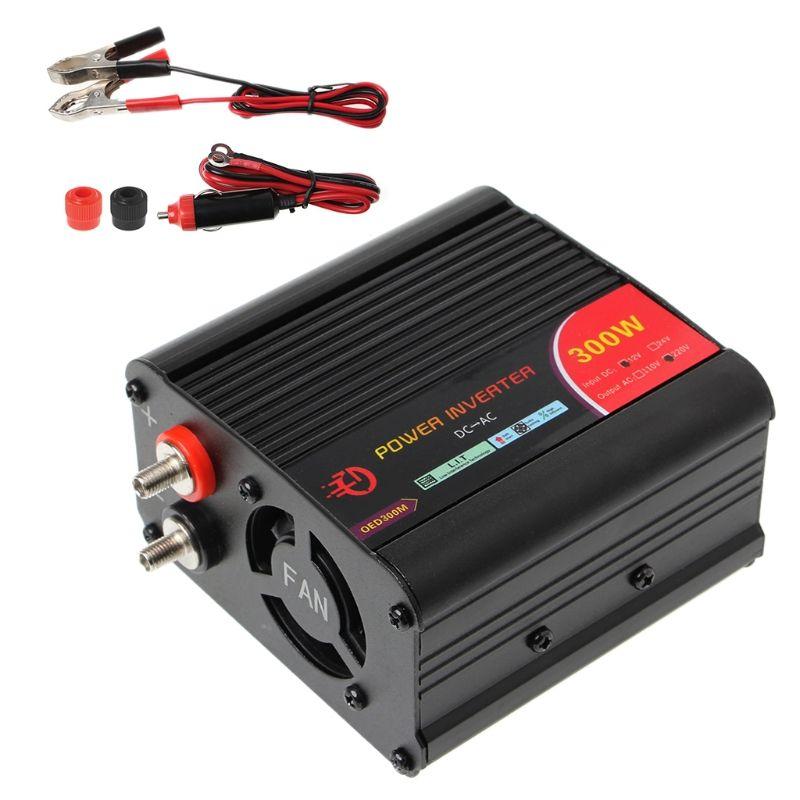 300 w/400 w/500 w/600 w Onduleur Convertisseur DC 12 v à 220 v AC Voitures Inverter avec Adaptateur De Voiture