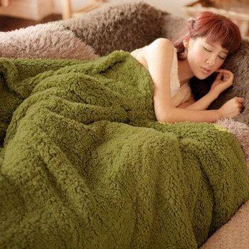 Épaissir Polaire Couverture à sur pour le canapé/Lit une Microfibre en peluche couvre-lit Mantas E Cobertor De Casal la Couverture D'hiver chaud