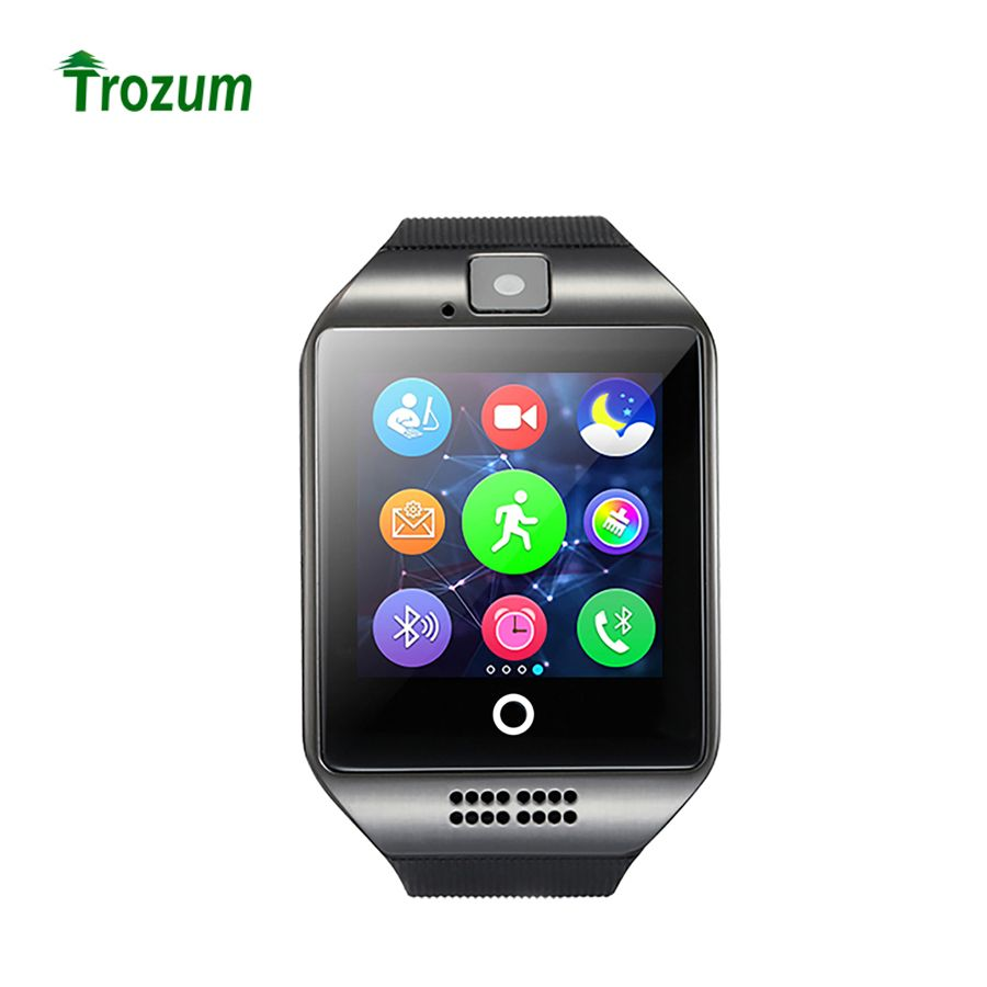 TROZUM Original Q18 Bluetooth Smart Watch 1.54'' LCD Health SIM Card Fitness Tracker Pedometer Bracelet for iOS Android Phone