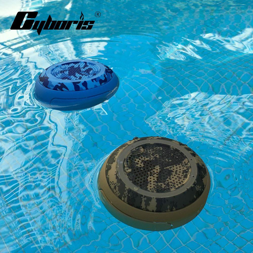 CYBORIS IP67 5W Deep Bass Swimming Speaker <font><b>Pool</b></font> Floating TWS Bluetooth Speakers Wireless Waterproof stereo for Outdoor TF Speake