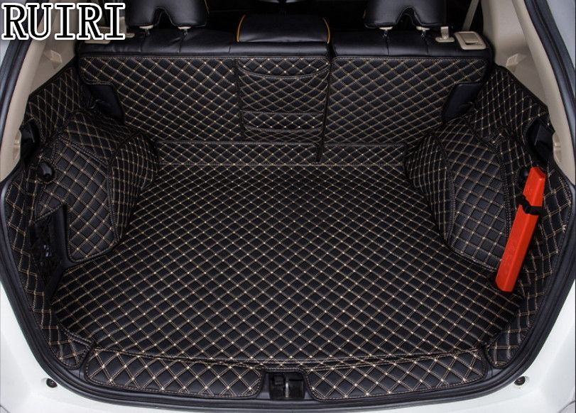 Best quality! Special trunk mats for Honda CR-V 2016-2012 waterproof durable cargo liner boot carpets for CRV 2015,Free shipping