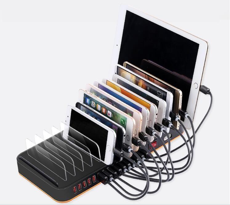 Super Chargeur Téléphones Portables accessoires 15 USB Station de recharge dock multi ports tablet smartphones 5 V 20A pour iphone ipad xiaomi