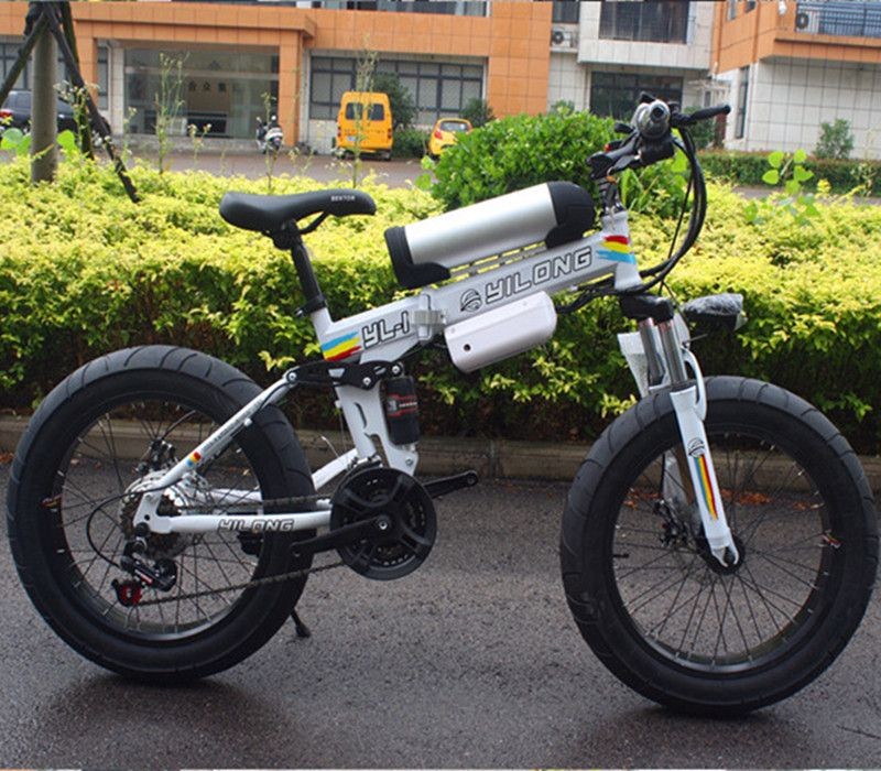 2018 Bicycles, new 21 speed, fat tires, bicycles, 36V 10.8ah 500W, lithium batteries, electric bicycles, electric mountain bikes