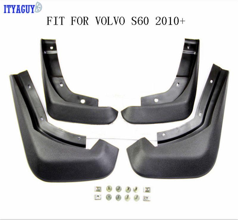 Car Mudguards Fit For VOLVO S60 S80 S40 C30 V40 V60 Mud flap Splash guards mudflaps Mudguard