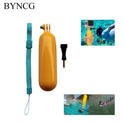 BYNCG for Gopro Hero 5 Accessories GoPro Monopod Bobber Floating Floaty Summer Style for Sj4000 Go pro Hero3 Hero 4 Xiaomi Yi