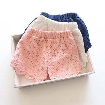 Princesse Dentelle Bébé filles shorts D'été Printemps 2016 enfants shorts enfants shorts pour filles vêtements bébé fille vêtements