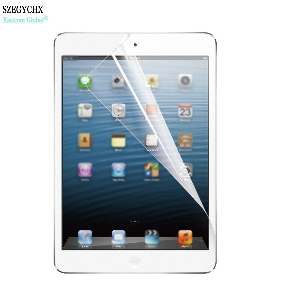 SZEGYCHX Protective Film For iPad Air/Air 2/Pro9.7/New 9.7 inch High-definition Protective Film PET Tablet Computer Front Film