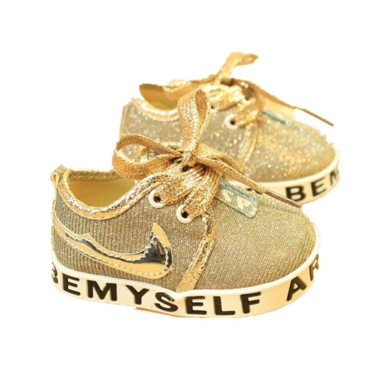 Новое поступление 11-13 см; симпатичная одежда для малышей Обувь для девочек и мальчиков Мягкая Подошва кроссовок Prewalker первый ходок кроватки ...