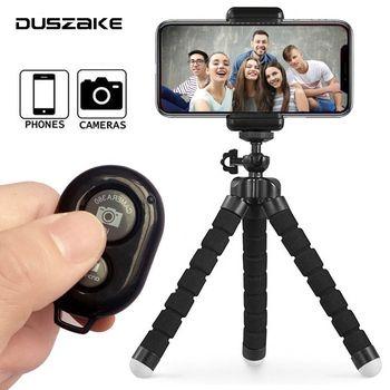 DUSZAKE مرنة جوريلابود البسيطة ترايبود للهاتف كاميرا اكسسوارات ترايبود Selfie عصا ل فون سامسونج Xiaomi هواوي Gopro