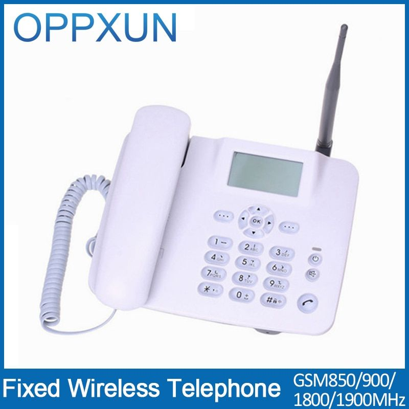 GSM bureau telefoon  Cordless phone telefone sem fio telefono radio telephone for home  with SIM card slot for home or office