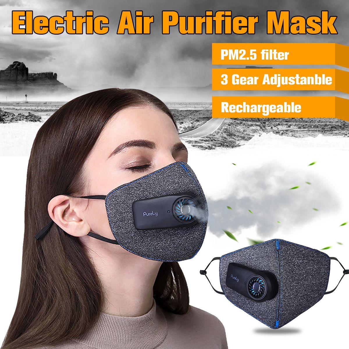 Anti-Pollution Respirateur PM2.5 Filtre vélo de cyclisme sport Anti-Poussière Air Pollution Masque En Plein Air Respiratoire À Air Purificateur