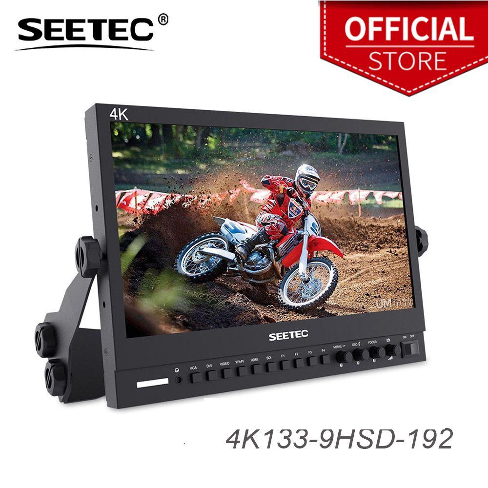 Seetec 4K133-9HSD-192 (Original P133-9HSD) 13,3 Zoll IPS 3G-SDI 4 K HDMI Broadcast-Monitor Direktor Desktop-LCD-Monitor