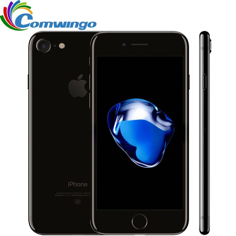 Original Used Apple iPhone 7 2GB RAM 32/128GB/256GB ROM IOS 10 Quad-Core 4G LTE 12.0MP iphone7 Apple Fingerprint touch ID