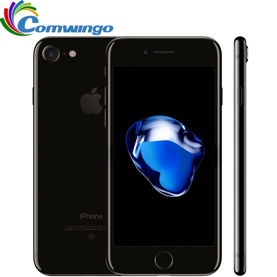 Original unlocked Apple iPhone 7 2GB RAM 32/128GB/256GB ROM IOS 10 Quad-Core 4G LTE 12.0MP <font><b>iphone7</b></font> Apple Fingerprint touch ID
