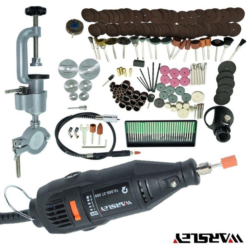 Dremel Style New 180W Mini Drill Mini-mill Grinding Machine Engraving Pen Electric Drill DIY Drill +Electric Rack Rotary Tool