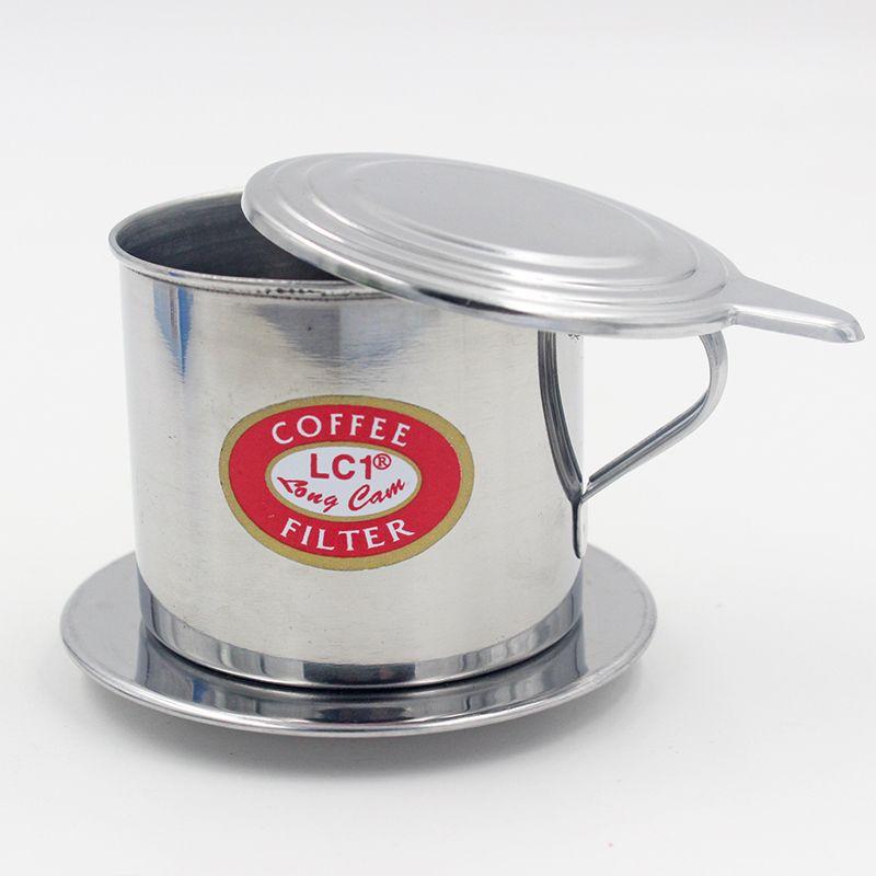 1 компл. 5.5x6.5 см Нержавеющаясталь Вьетнамский капельного Кофе фильтр горшок для заварки для домашнего офиса путешествия d0393