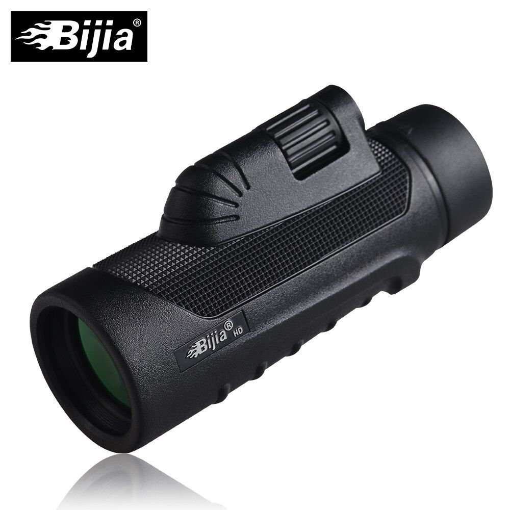 BIJIA 10x42 Monokular Qualität Vision Teleskop für Jagd High Power Monokulare mit BaK4 Prisma