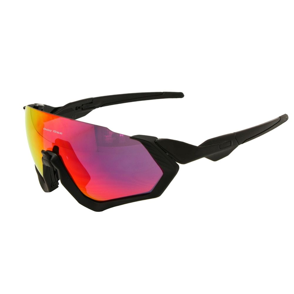 Daisy One Polarized Cycling Goggles 3 Lens Kit UV400 Bicycle Sunglasses Mountain <font><b>Bike</b></font> MTB Outdoor Sports Glasses