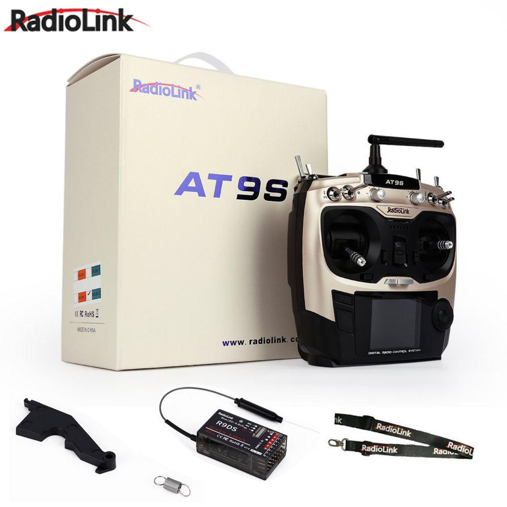 Radiolink AT9S R9DS Radio Fernbedienung System DSSS FHSS 2,4g 10CH Sender Empfänger für Rc Quadcopter