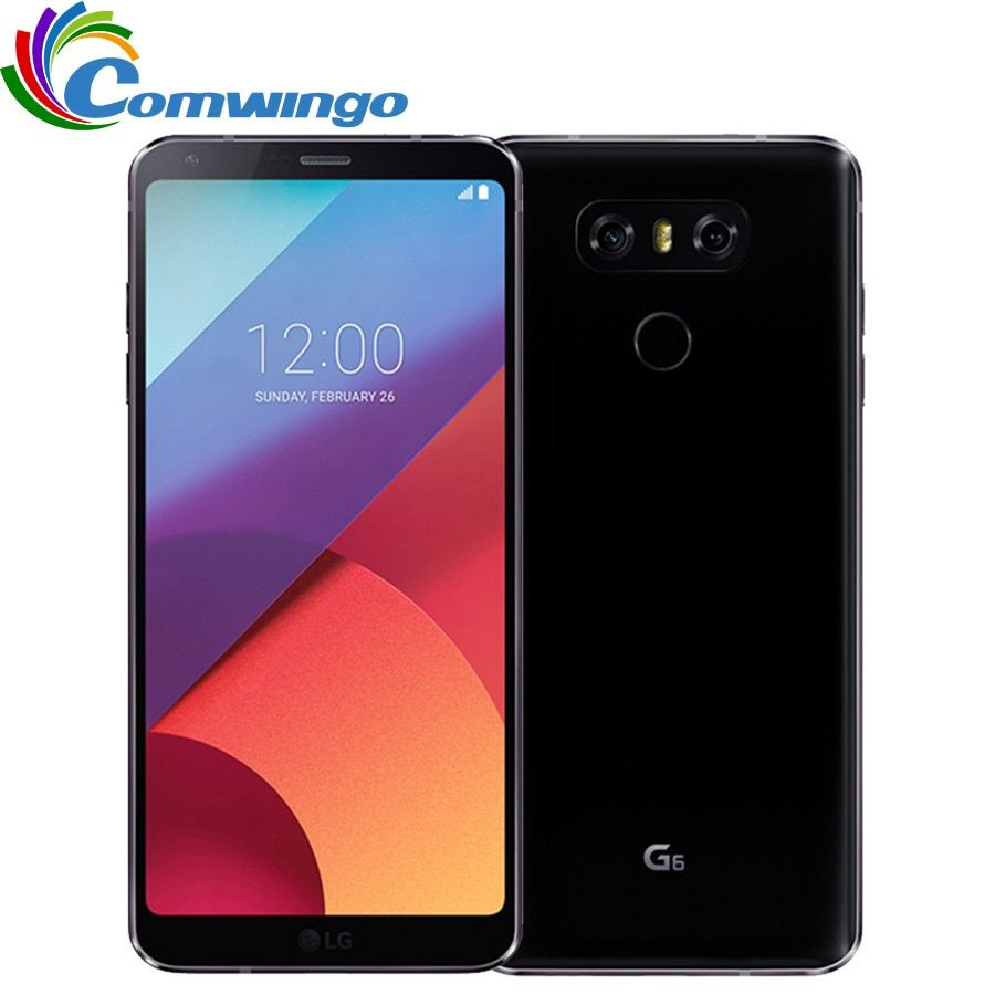 Original Unlocked LG G6 Cellphone 4G RAM 32G ROM Quad-core 13MP 5.7'' Snapdragon 821 4G LTE Mobile phone Android LGG6 phone