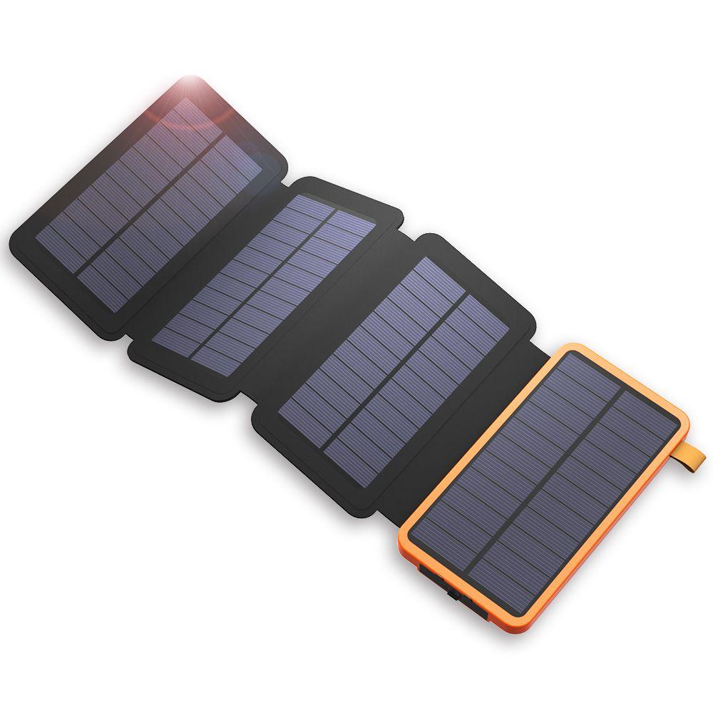 20000 mah Power Bank Solar Externe Batterie Power Ladegerät für iPhone Samsung Huawei Smartphones Xiaomi Im Freien Camping