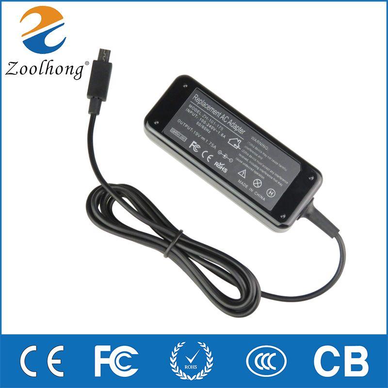 33 W Usine Directe AC Adaptateur D'alimentation pour Ordinateur Portable Chargeur Pour Asus Eeebook X205T X205TA 11.6 Pouce Portable Nouvelle Inventé 19 V 1.75A