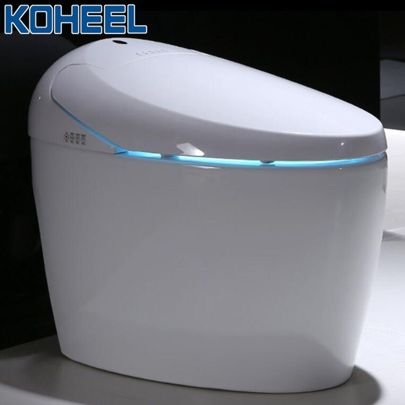 Luxus Smart Einteiliges Wc S-falle Intelligente WC Längliche Fernbedienung Gesteuert Smart Bidet Wc