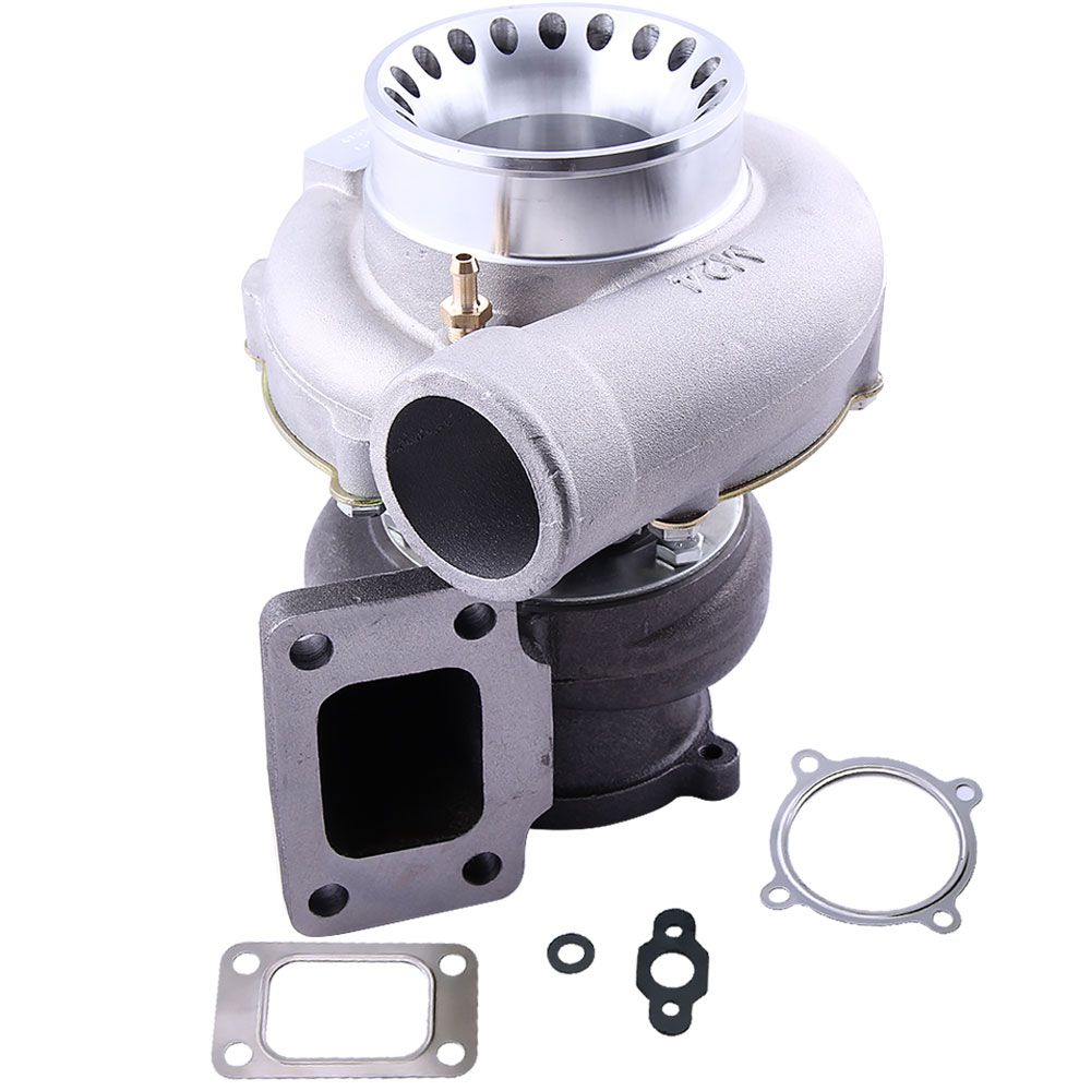 Anti Surge GT3582 Turbo GT35 T3 Flange Water Cooled Turbocharger for 3.0-6.0L Universal Turbolader 600HP