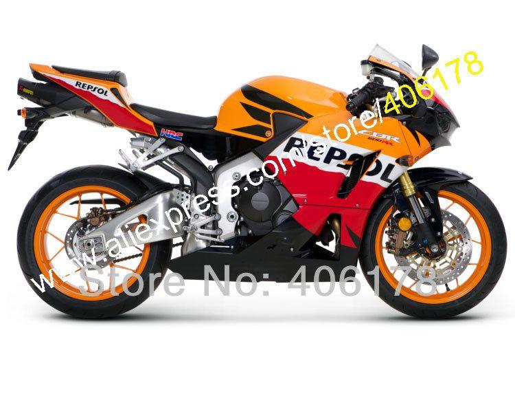 Hot Sales,For Honda 2013-2016 CBR600RR CBR 600 RR 13-16 CBR600 RR Repsol Bike Bodywork Cheap Fairing Kit (Injection molding)