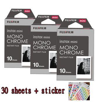 3 packs Fuji Fujifilm Instax Mini Film Instantané Monochrome Papier Photo Pour Mini 8 7 s 7 50 s 50i 90 25 dw Partager SP-1 Caméras