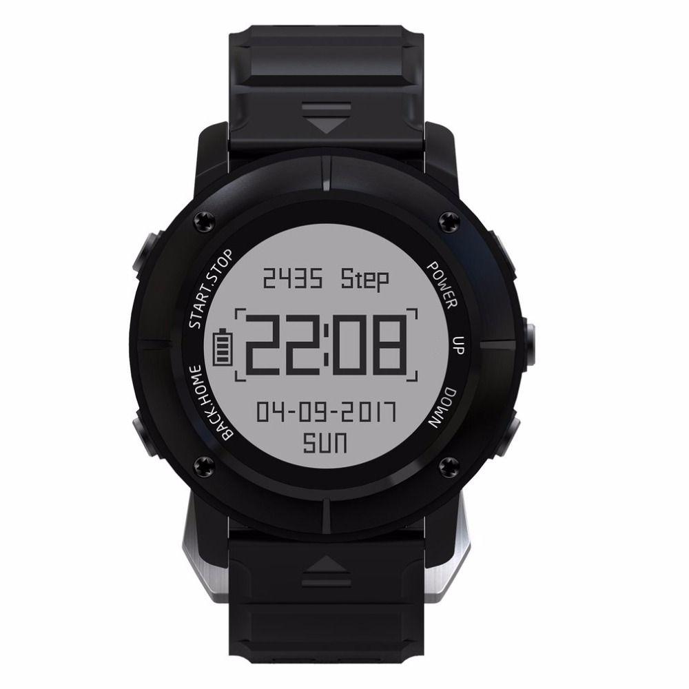 UW80 GPS Smart Watch men SOS Thermometer Pressure Gauge Sport Heart Rate Monitor Bluetooth Pedometer Smartwatch reloj relogio