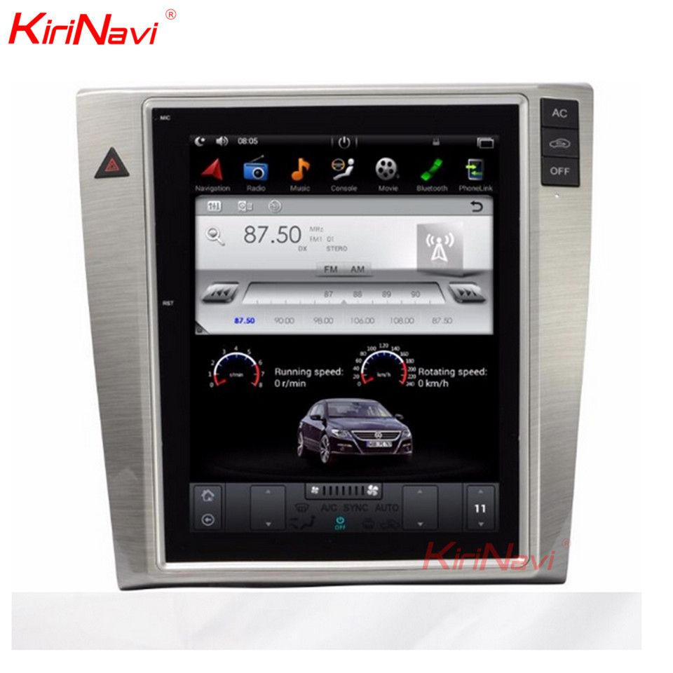 KiriNavi Vertical Screen Tesla Style 10.4 Inch Android 6.0/7.1 Car Radio For VW Passat Magotan CC GPS Navigation DVD Player