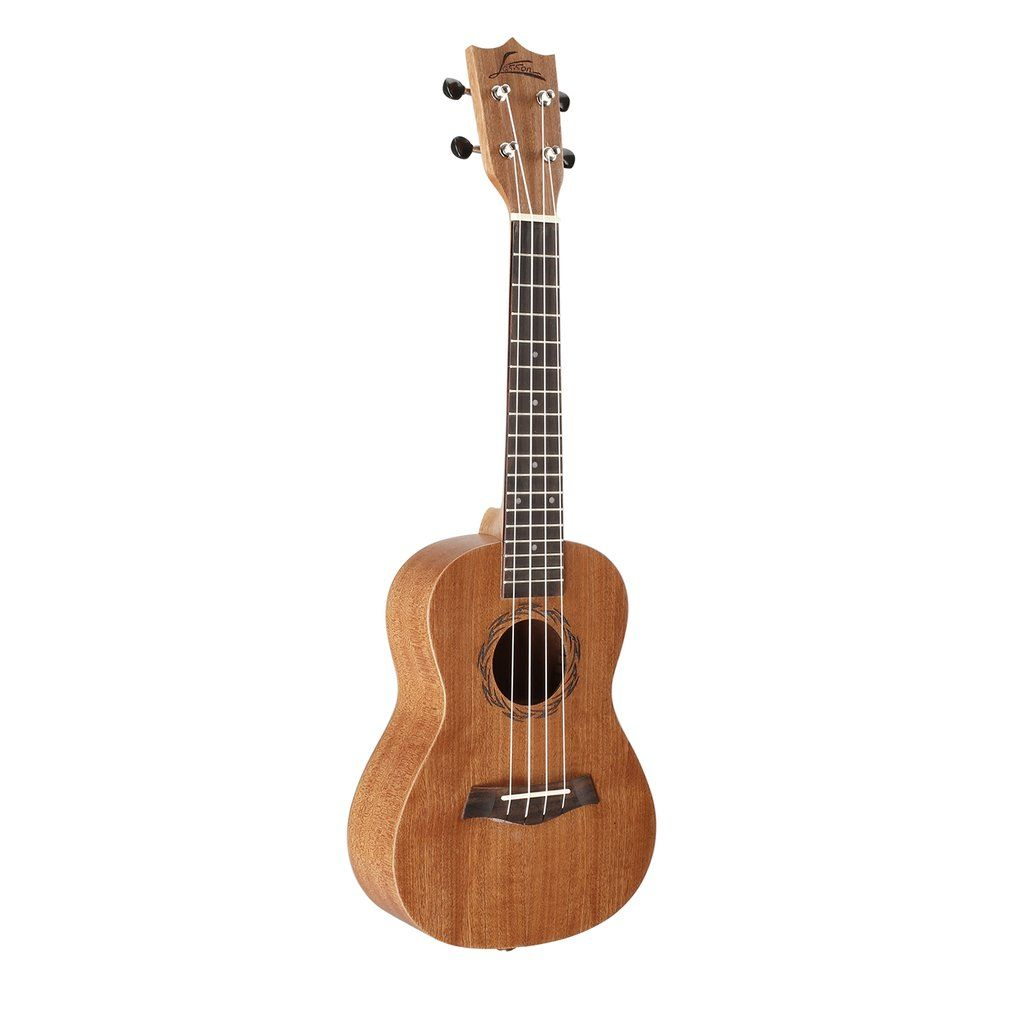 23 Inch Full Sapele Concert Ukulele 4 Strings Ukulele Solid Wood Hawaii Guitar Sapele Musical Instruments For Beginner